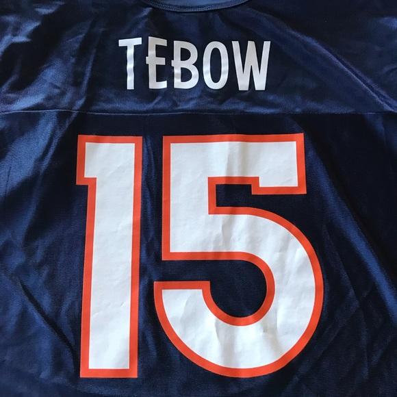 new style c55f8 0bec6 Denver Broncos Tim Tebow Jersey Large